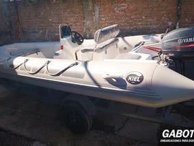 Semirrigidos Kiel 5 Mts Con Motor Yamaha 40 Hp Full Gabott