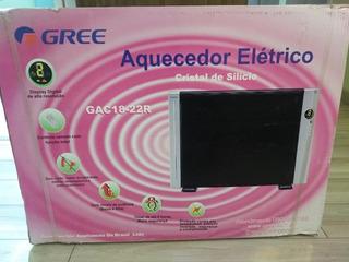 Aquecedor Elétrico Gree Gac1822r- Controle Remoto 220v