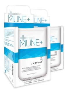 Kit 2 Mune + Chá Mais Wellmune Para Imunidade 10 Sachês