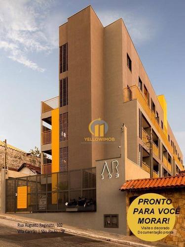 Studio À Venda, 28 M² Por R$ 175.000,00 - Vila Carrão - São Paulo/sp - St0003