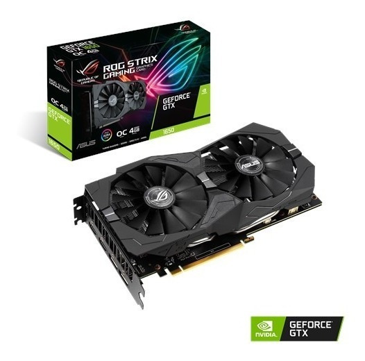 Placa De Video Asus Geforce Gtx 1650 Strix 4gb Ddr5 128-b