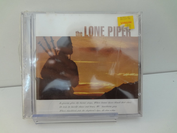 Cd The Lone Piper - The Munros Introducing David (novo)
