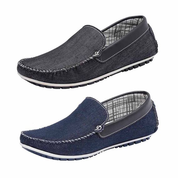 Combo 2 Pares Mocassim Masculino Avalon Kit-53 Docksiders