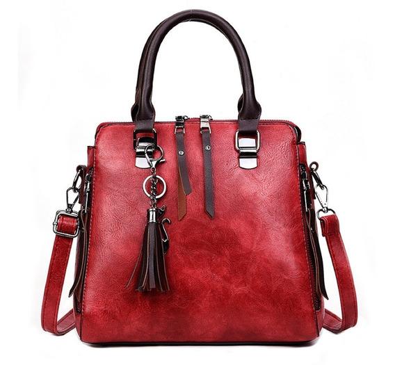 Bolsa Feminina De Couro Pu Tiracolo Modelo Exclusivo Luxo Com Alça De Ombro Ajustável Produto Importado 3 Cores