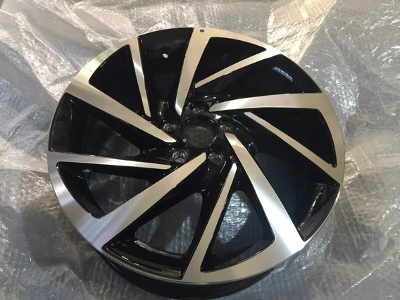 Roda Do Novo Polo Virtus Aro 17 Diamantada Original Vw