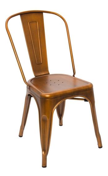Cadeira Iron Cobre Vintage
