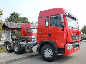 Howo T5g Tractor 6x2