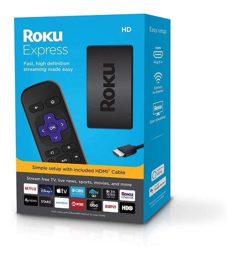Roku Express Nuevo Modelo 3930 Reproductor Smart Full Hd Box