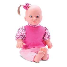 Boneca Lavínia Baby Com Chupeta 35cm Bee Toys