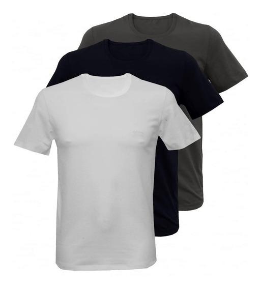 Kit 50 Camiseta Lisa Camisa Básica Atacado 100% Algodão
