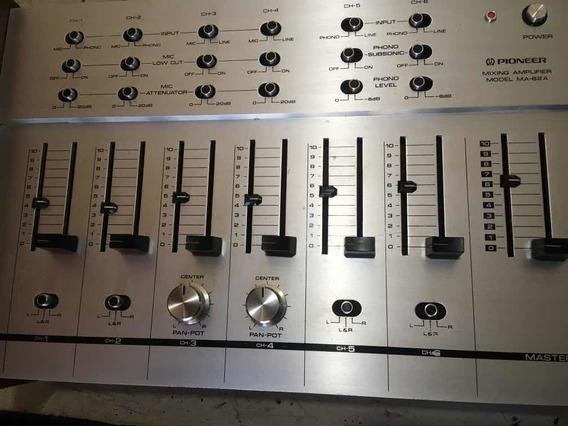 Mixer Pioneer Ma-62a Lindo Aparelho Funcionando
