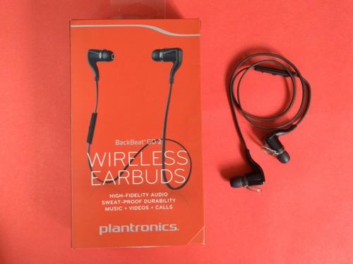 Fones De Ouvido Wireless Playtronics Back Beat Go Na Caixa