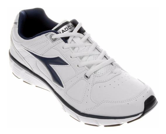 Tenis Masculino Diadora Blade 2l Na Cor Branco/azul