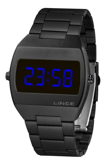 Relógio Lince Unissex Digital Quadrado Mdn4621l Dxpx