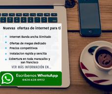 Internet Dedicado Ilimitado Empresarial Y Residencial