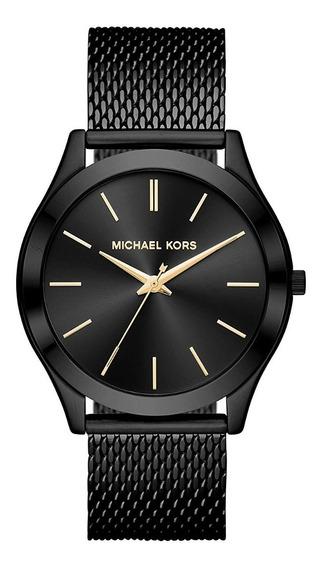 Reloj Michael Kors Mk8607 Color Negro Para Caballero