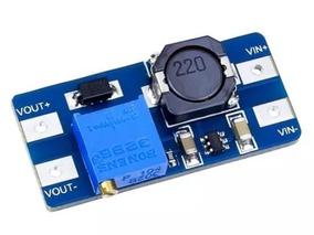 Conversor Dc-dc Step Up Boost Tensão Mt3608 2a - Elevador