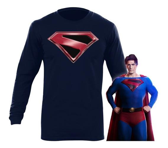 Playera Superman Crisis En Tierras Infinitas Arrowverse