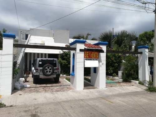 Renta/venta De Casa Con Uso Comercial Smz 20 Cancun Centrico