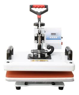 Prensa sublimadora Tander NMS801 branca e vermelha 220V