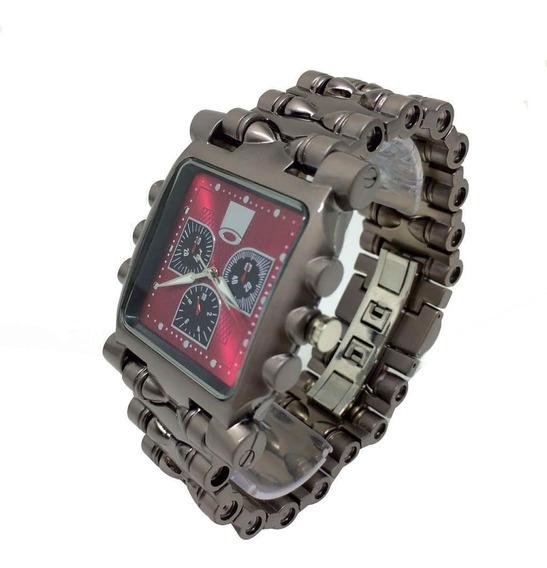 Relógio Oakley Tank Minute Machine Relíquia Frente Grátis