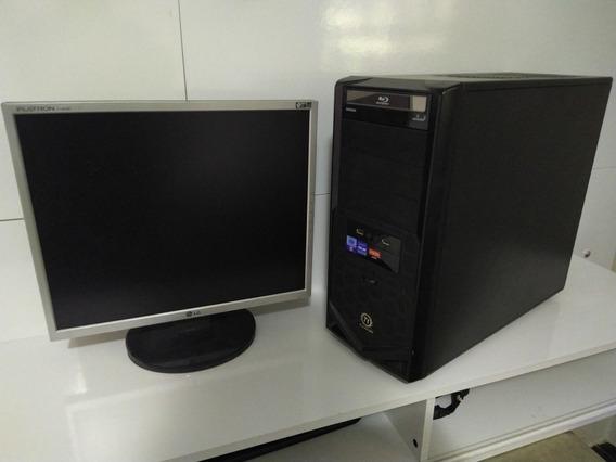 Pc Cpu Intel Core I5 16 Gb Hd 500 + Monitor