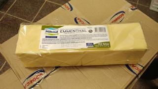 Queso Ementhal Milkaut 192 Fetas/cheddar