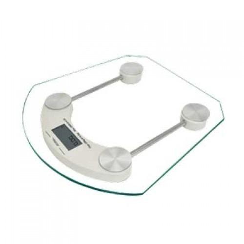 Bascula Digital Precisión Cristal Baño Asta 150 Kilos C-2167