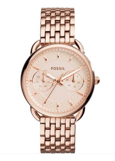 Relógio Fossil Ladies Tailor Rosê Es3713/1jn