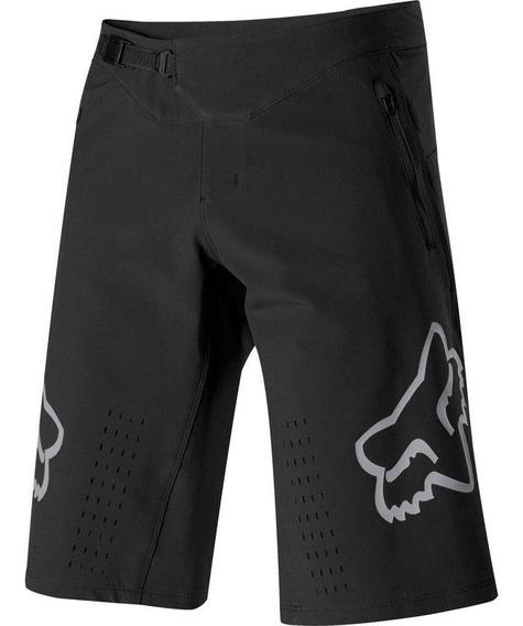 Short Bicicleta Defend Negro Fox