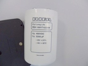 302a - Capacitor Eletrolitico 2200uf X 400v - Rifa
