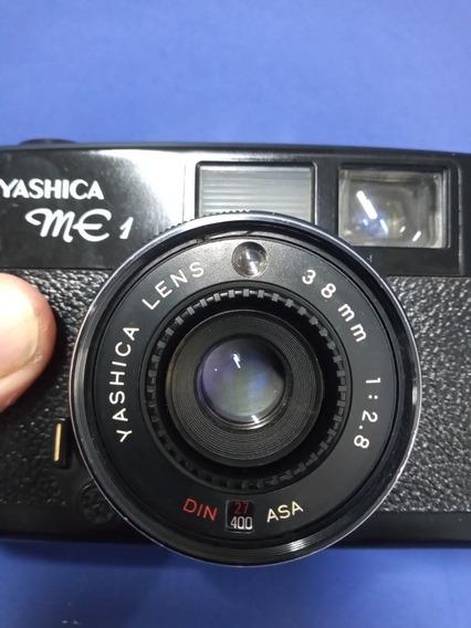 Camera Fotográfica Yashica Me-1 Ótica Perfeita