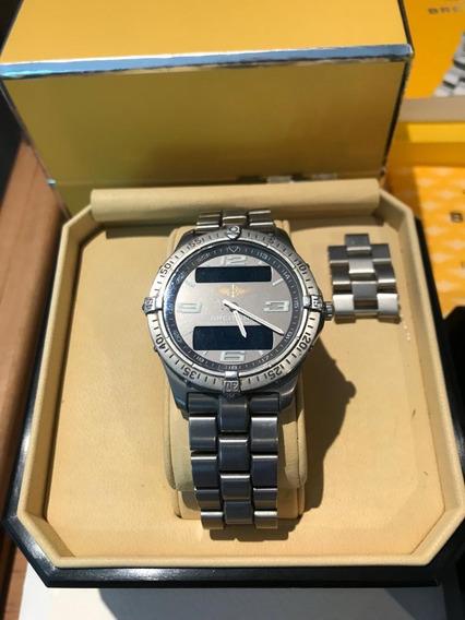 Reloj Breitling Aerospace Mod. 75632 Titanio Mov. Cuarzo