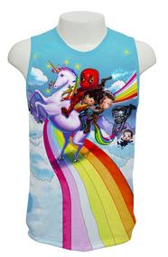 Camisa, Deadpool 2 M04 - Regata