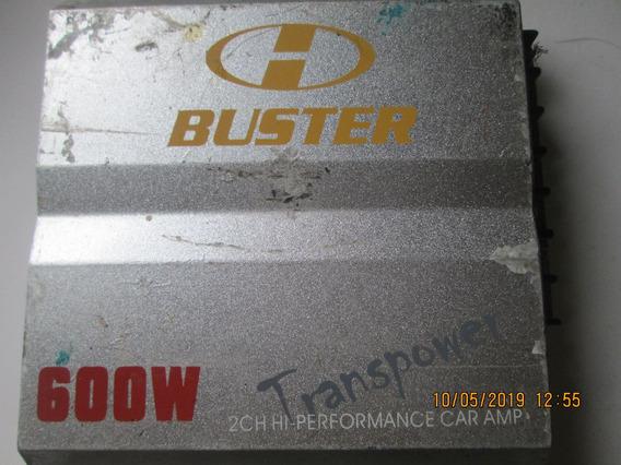 Potencia Buster 600 W Transpower Hbm T200 Estereo 2 Canais