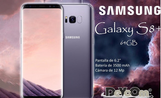 Samsung Galaxy S8 4g/ Snapdragon 835 / 4gb Ram / 64gb Nuevo!