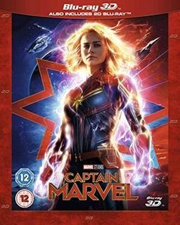 Capitana Marvel 3d Sbs