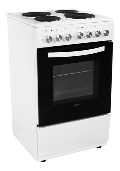 Cocina Eléctrica Atma Cch062b 60 Cm 4 Hornallas 12cts