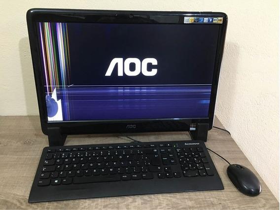 Computador All In One Aoc M2011 Ca201ma (tela Trincada)