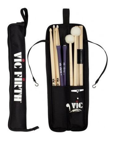 Imagen 1 de 1 de Porta Baquetas Para Bateristas Vic Firth -  Esb Essential