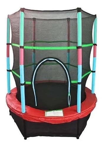Cama Elastica Saltarina 1,4m Trampolin Proteccion Red Fd1400