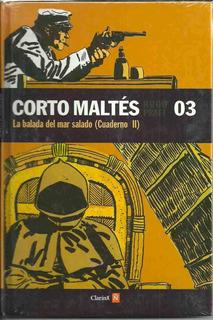 Corto Maltes La Balada Del Mar Salado Cuaderno Ii - Pratt