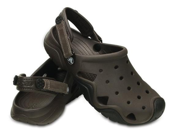 Crocs Swiftwater Clog M Espresso Black-