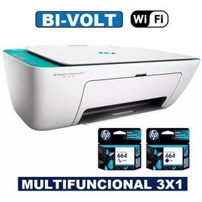 Impressora Hp Multifuncional 2675 Wi-fi 3x1