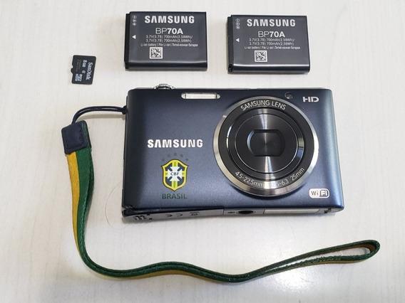 Câmera Sony St2014f, Cartão 8gb, 2 Baterias, Capa.