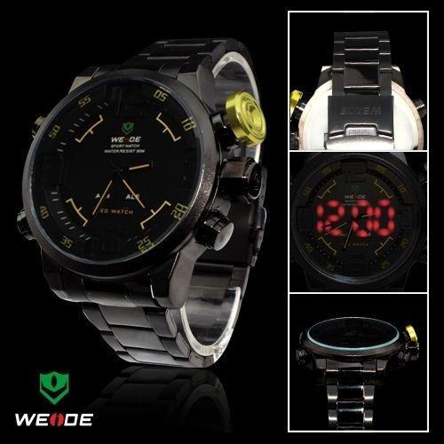 Relógio Masculino Pulso Weide Digital Analógico Wh2309-4