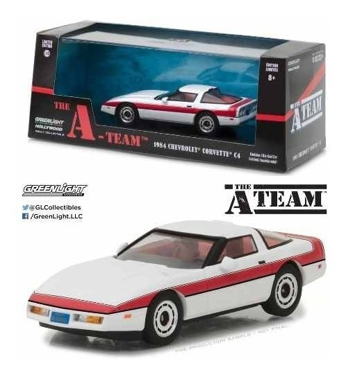 Greenlight 1:43 The A Team Chevrolet Corvette C4 1984
