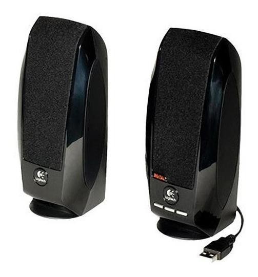 Logitech Parlante S150 Digital Usb Power 1.2w Black