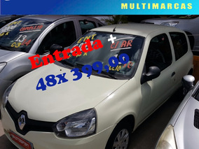 Renault Clio 1.0 16v Authentique Hi-power 3p Com Ar