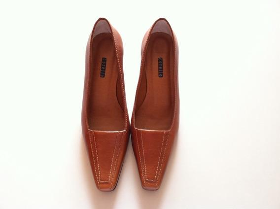 Sapato Scarpin Corello Nº 36 - Couro Legítimo